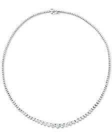 "Diamond Fancy 16-3/4"" Collar Necklace (10 ct. t.w.) in 14k Gold"