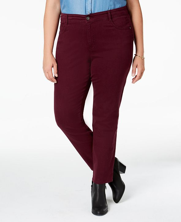 Style & Co Plus Size Skinny Jeans, Created for Macy's