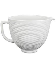 5-Qt. Textured Ceramic Bowl