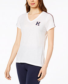 Tommy Hilfiger Sport V-Neck Logo T-Shirt, Created for Macy's