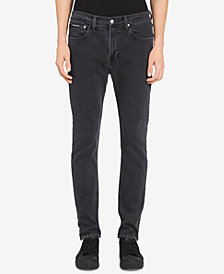 Calvin Klein Jeans Men's Atlanta Skinny-Fit Stretch Gray Jeans