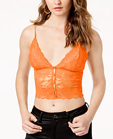 GUESS Jojo Lace Cropped Camisole