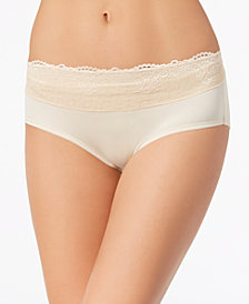 Bali Women's Passion For Comfort Lace-Waist Hipster DFPC63