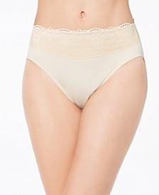 Women's Passion For Comfort Hi Cut Lace-Waist Panty Underwear DFPC62