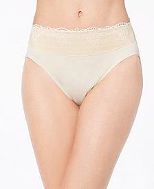 Bali Women's Passion For Comfort Hi Cut Lace-Waist Panty DFPC62