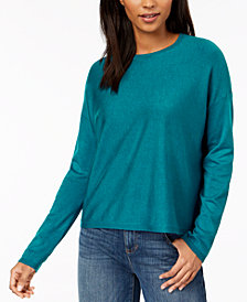 Eileen Fisher Crew-Neck Top