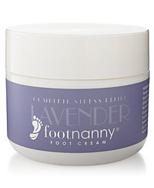Footnanny Foot Creams & Soaking Salts