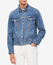 Calvin Klein Jeans Men's Denim Logo Jacket