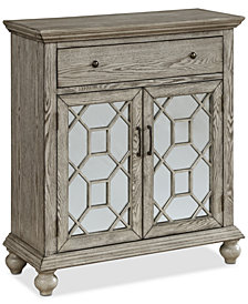 Elyson Two-Door Cabinet, Quick Ship