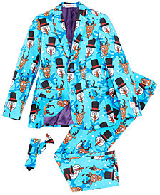 OppoSuits Little Boys 3-Pc. Winter Winner Suit & Tie Set