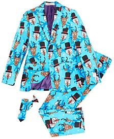 OppoSuits Teen Boys Winter Winner Christmas Suit