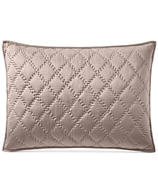 Hotel Collection Silk Quilted Standard Sham, Created for Macy's