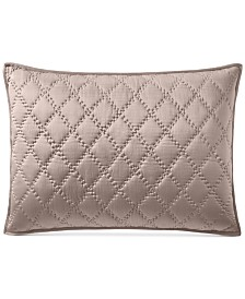 CLOSEOUT! Hotel Collection Silk Quilted King Sham, Created for Macy's
