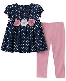 Kids Headquarters Toddler Girls 2-Pc. Tunic & Leggings Set