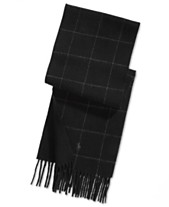 bd1e933e054b6 Polo Ralph Lauren Men s Reversible Windowpane Plaid Scarf