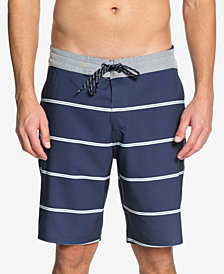 "Quiksilver Men's Waterman Liberty Overboard Striped 20"" Board Shorts"
