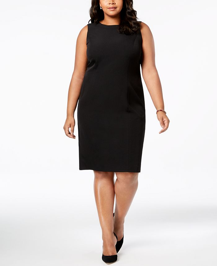Kasper - Plus Size Sleeveless Sheath Dress