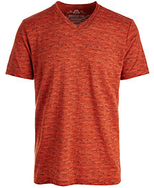 American Rag Men's Textured V-Neck T-Shirt, Created for Macy's