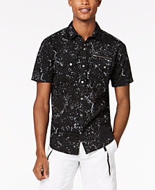 I.N.C. Men's Splatter Shirt