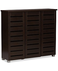 Diede Shoe Storage Cabinet, Quick Ship