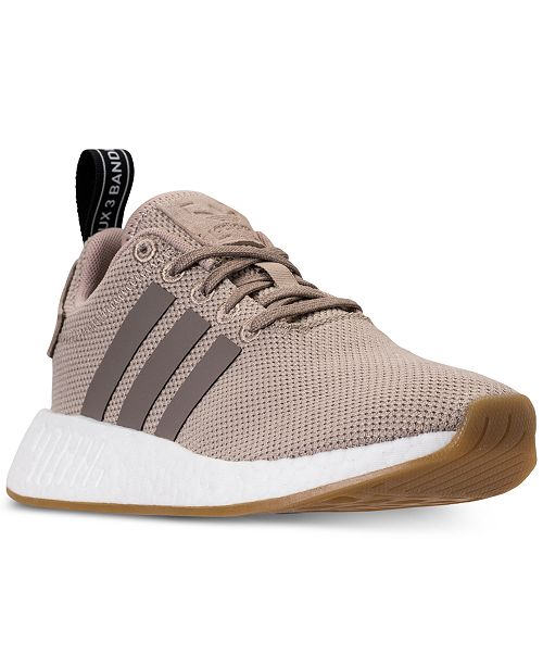 7397e7b2c47d7 adidas Boys  NMD R2 Casual Sneakers from Finish Line   Reviews ...