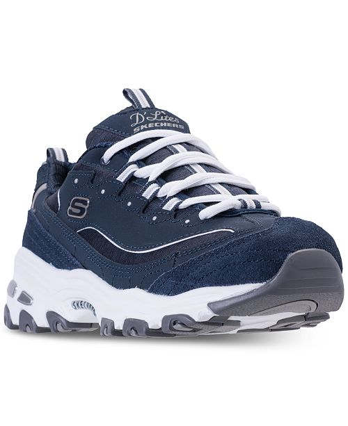 63e272d93374 ... Skechers Women s D Lites - Me Time Walking Sneakers from Finish ...