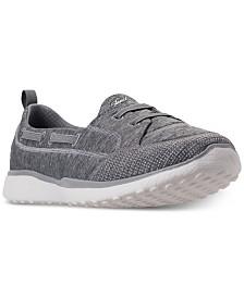 Skechers Women's Microburst - Wide Width Topnotch Casual Walking Sneakers from Finish Line