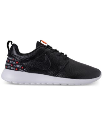 pretty nice c2171 459fb Women s Roshe One Premium Just Do It Casual Sneakers from Finish Line
