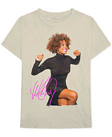 Whitney Houston Men's Graphic T-Shirt