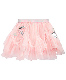 Hello Kitty Toddler Girls Patched Tulle Skirt