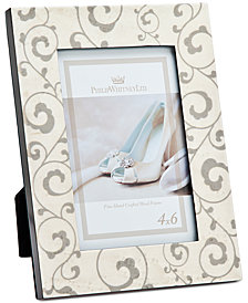 """Philip Whitney 4"""" x 6"""" Bridal Scroll Vines Picture Frame"""