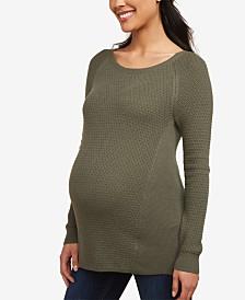 Motherhood Maternity Crewneck Sweater