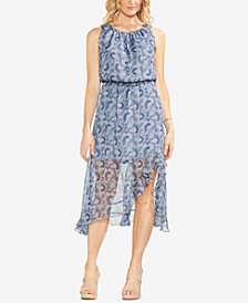Vince Camuto Boutique Floral Blouson Dress