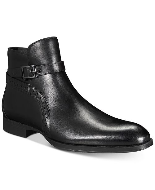 3b8fb9f3aaab5 Alfani AlfaTech by Men s Ansell Double Buckle Boots