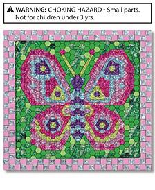 Kids Toys, Peel and Press Mosaics