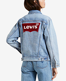 Levi's® Cotton Ex-Boyfriend Denim Jacket