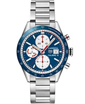 b6b74c38973 TAG Heuer Men s Swiss Automatic Chronograph Carrera Calibre 16 Stainless  Steel Bracelet Watch 41mm