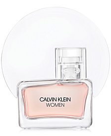 Receive a Complimentary Calvin Klein Women Eau de Parfum Spray Mini with any large spray purchase from the Calvin Klein Women fragrance collection