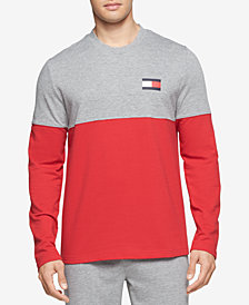 Tommy Hilfiger Men's Modern Essentials Colorblocked French Terry Sweatshirt
