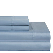 Pointehaven Solid 3-Pc. Twin XL Sheet Set, 400 Thread Count Cotton Sateen