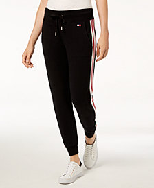 Tommy Hilfiger Sport Striped Jogger Pants, Created for Macy's