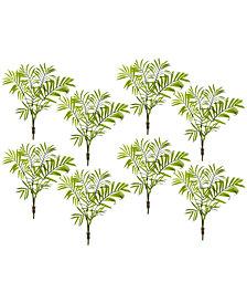 Nearly Natural 8-Pc. Mini Areca Palm Artificial Bush Set