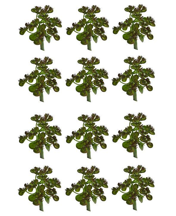 Nearly Natural 12-Pc. Sedum Succulent Artificial Plant Set
