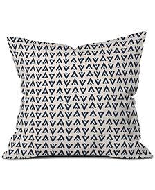 Deny Designs Allyson Johnson Navy Arrows Throw Pillow
