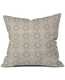 Deny Designs Holli Zollinger Anthology of Pattern Seville Grey Throw Pillow