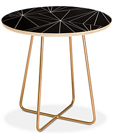 Deny Designs Three Of The Possessed Biscayne Round Side Table