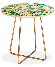 Deny Designs Iveta Abolina Lula Garden I Round Side Table