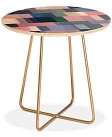 Deny Designs Mareike Boehmer Nordic Combination 30 A Round Side Table