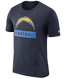 Nike Men's Los Angeles Chargers Legend Football Equipment T-Shirt