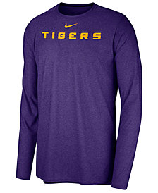 Nike Men's LSU Tigers Long Sleeve Player T-shirt